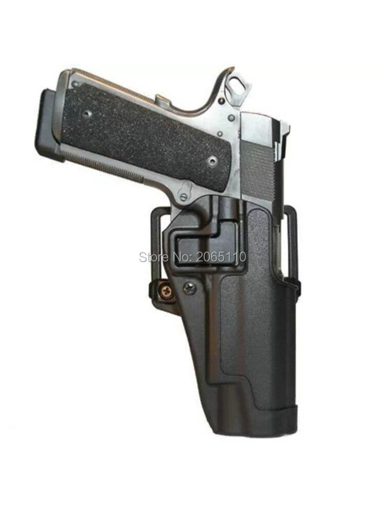 Pistola táctica de airsoft pistolera para Colt 191 funda para pistola cinturón funda militar para caza accesorios compactos