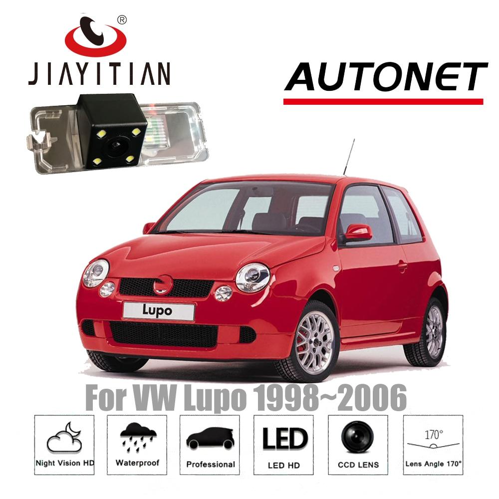 JIAYITIAN-cámara de visión trasera para Volkswagen VW Lupo 1998 ~ 2006 CCD,...