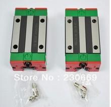 HIWIN Linear Guide HGR25 -L1000mm rail +2pcs HGH25CA carriages