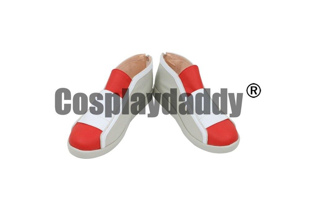 Pokemon HeartGold y SoulSilver oro plata y cristal etín Hibiki entrenador Cosplay zapatos C006