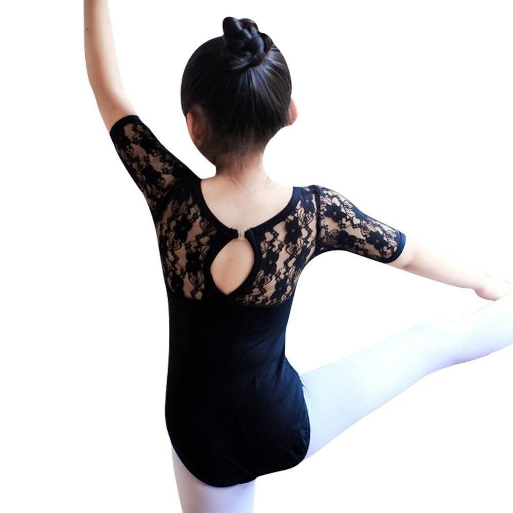 kids-girls-ballet-dance-dancewear-nastics-leotard-lace-skirt-tutu-strap-dress