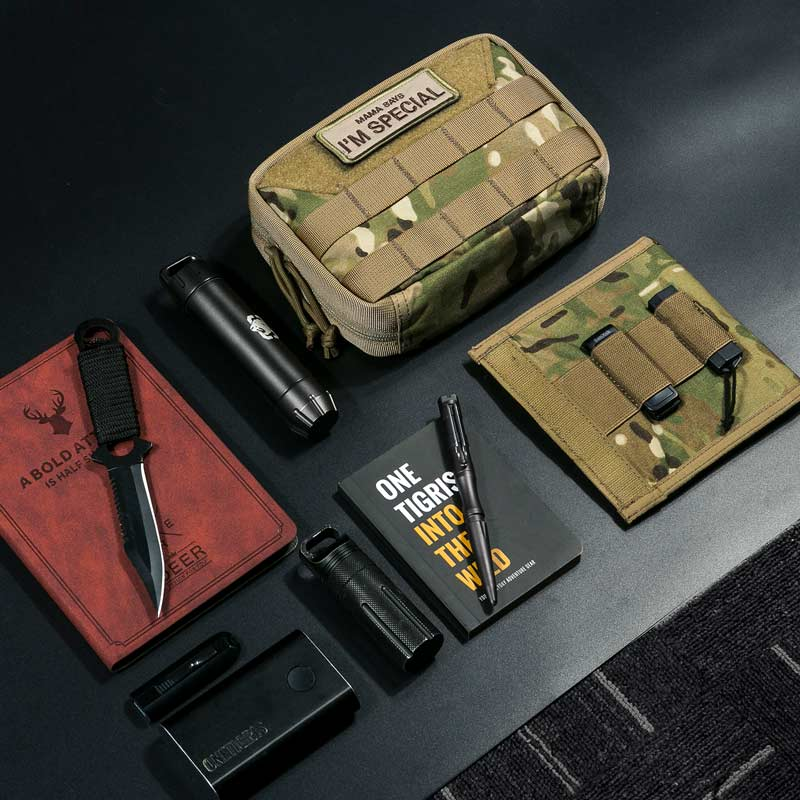 OneTigris Military MOLLE Admin Pouch Tactical Multi Medical Kit Bag Utility Tool Belt EDC Pouch For Camping Hiking Hunting military molle admin pouch tactical multi medical kit bag utility tool belt edc pouch for camping hiking hunting 2018