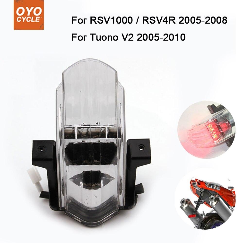 Motorcycle Led Tail Brake Turn Signal Integrated Light For Aprilia RSV1000 RSV4R 2005-2008 Tuono V2 2005-2010