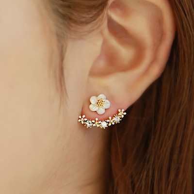 Brinco de cristal 925 da moda esterlina, joias para senhoras presente de aniversário anti-alergia