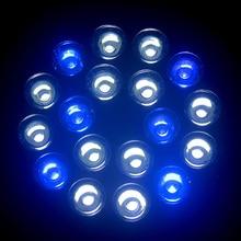 E27 Fish Tank Lighting LED Aquarium Lights, Aquatic plants and coral illumination Grow Lights Blue & White Spot Lights