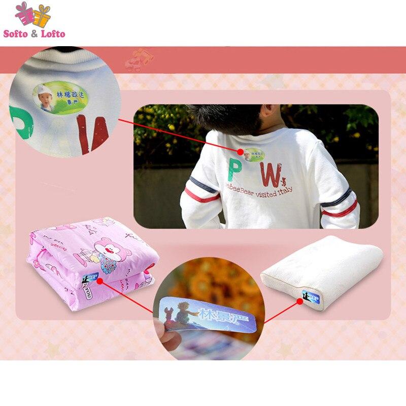 Бесплатная доставка, Детская Наклейка с надписью «Железный на ткани», водонепроницаемая мультяшная одежда, 4 размера, 1 лист, детская одежда ...