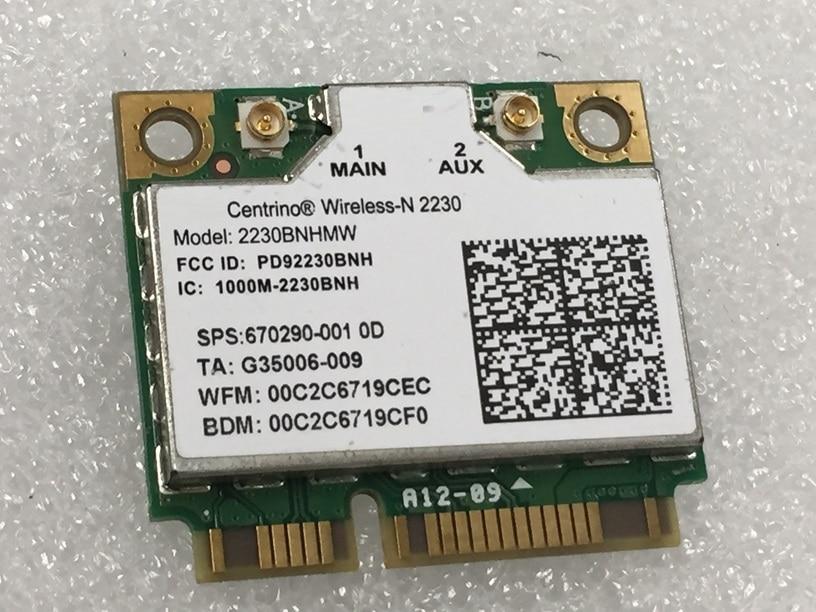 SSEA новая сетевая карта для Intel centino Wireless-N 2230, мини Pcie WIFI Bluetooth 4,0 карта для Hp DV4 DV6 DV7 SPS 670290-001