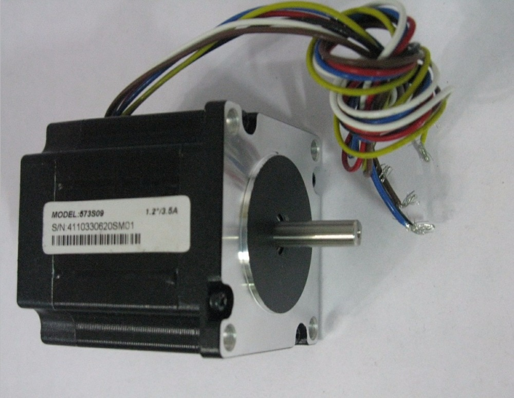 3-phase híbrido stepper 573S09 motor Corrente/fase 3.5A 0.9N Holding Torque NEMA 23 CNC stepper motor