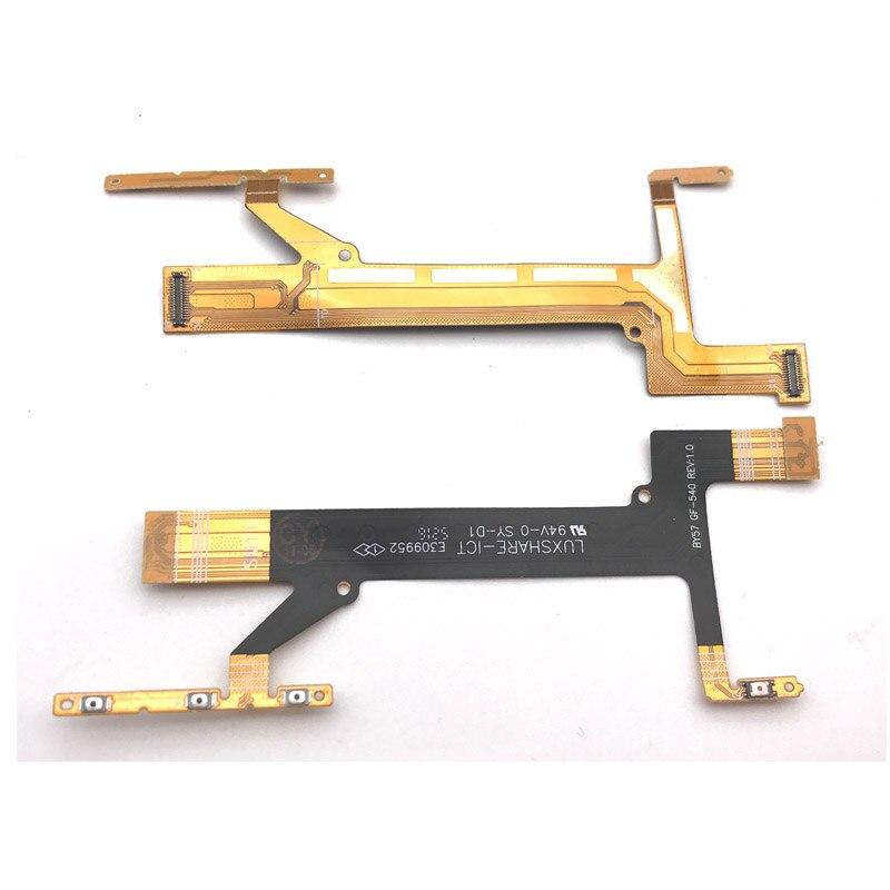 Alta Qualidade Botão de Volume Cabo Flex para Sony Xperia XA1 G3121 G3125 G3112 Power On Off Flex Cable Chave