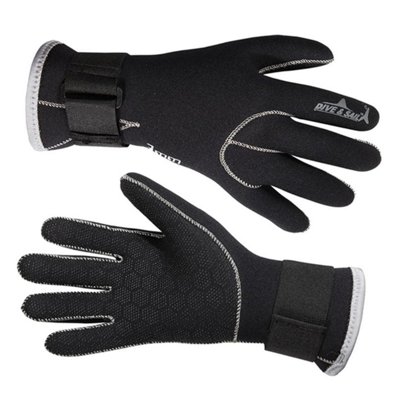 3mm neoprenové plavecké rukavice plavecké rukavice šnorchlovací vybavení proti poškrábání udržujte teplý neoprenový materiál zimní plavání spearfishing