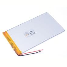 Qualité supérieure 3.7v 5000mah 3580140 bateria li-ion para chuwi v88 v971 m9 pipo tablette ordinateur portable téléphone portable haut-parleur 3.5*80*140mm