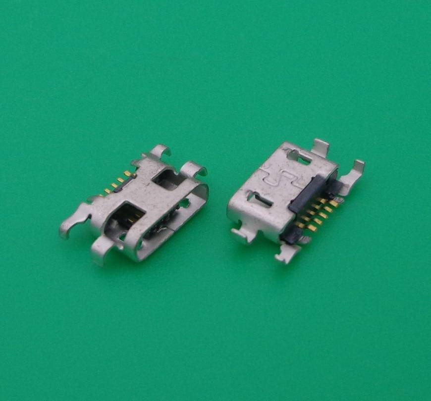 100 Uds Dc Micro USB puerto de carga del conector para Nokia...