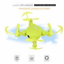 DHD Mini-caméra pliable D4   Mini, poche, 2.4GHz, WIFI FPV 720P HD, Mode hauteur de caméra, vol à quatre axes, télécommande, commande de téléphone portable