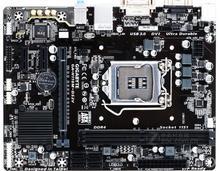تستخدم جيجابايت GA-H110M-DS2V الأصلي تستخدم اللوحة H110M-DS2V المقبس LGA 1151 DDR4 USB3.0 SATA3 PCI-E3.0