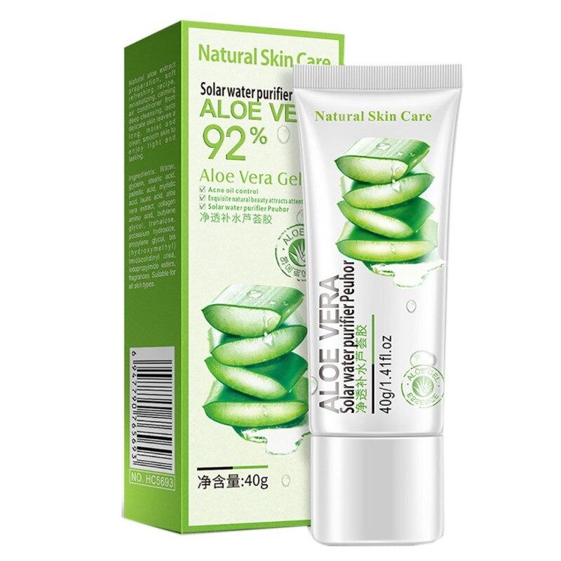 Aloe Vera crema facial en gel ácido hialurónico antiarrugas acné hidratante de blanqueamiento tratamiento removedor de espinillas cuidado de la piel