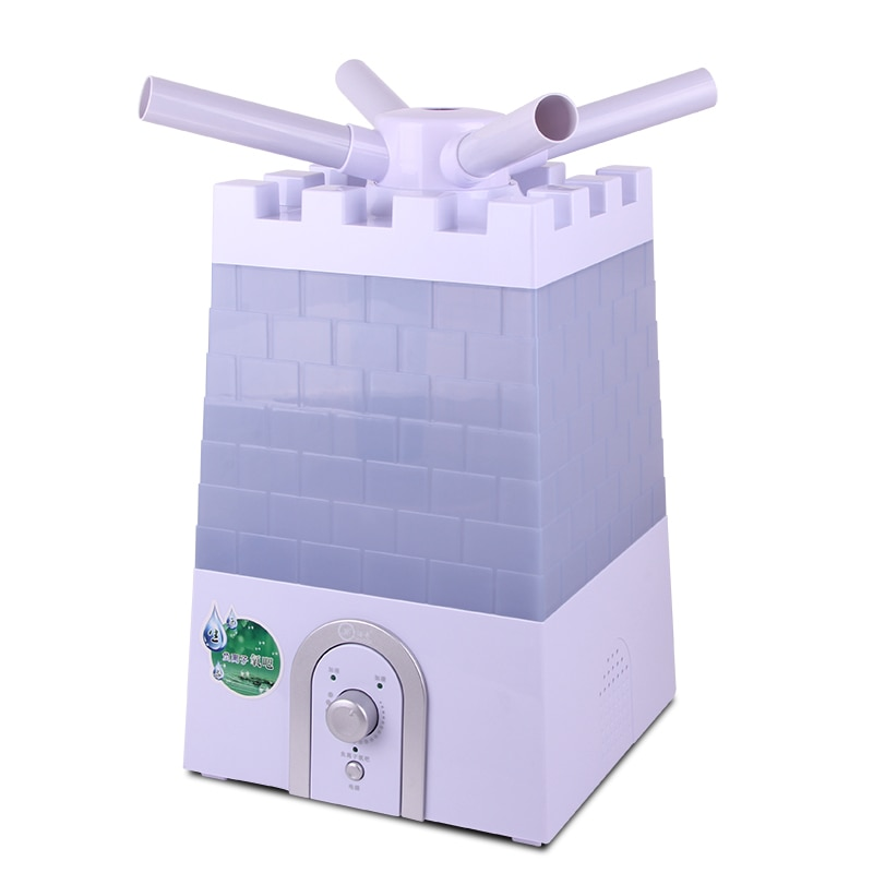 Large capacity 8.8L air humidifier office heavy fog industrial commercial super ultrasonic anion atomizing humidifying machine enlarge