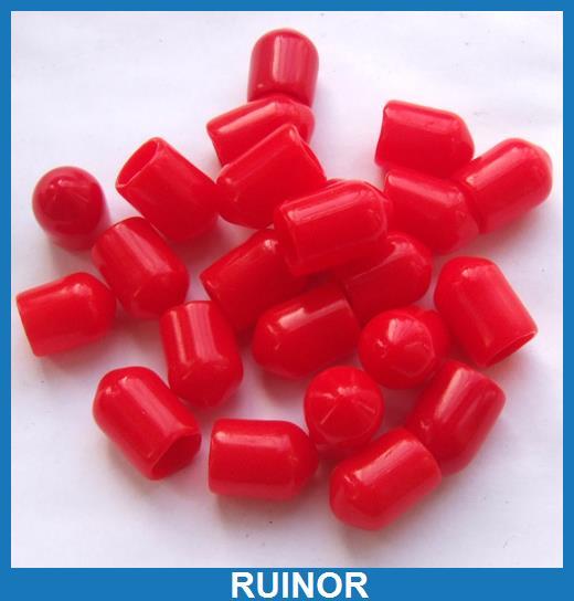 1000 قطعة/الوحدة البلاستيك يغطي الغبار كاب الأحمر ل RF SMA الإناث موصل