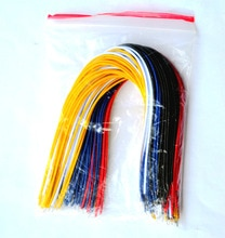 Trasporto Libero 100 (pc) Filo di Collegamento 20 CM 5 colori 20 ogni colore Per Aduino