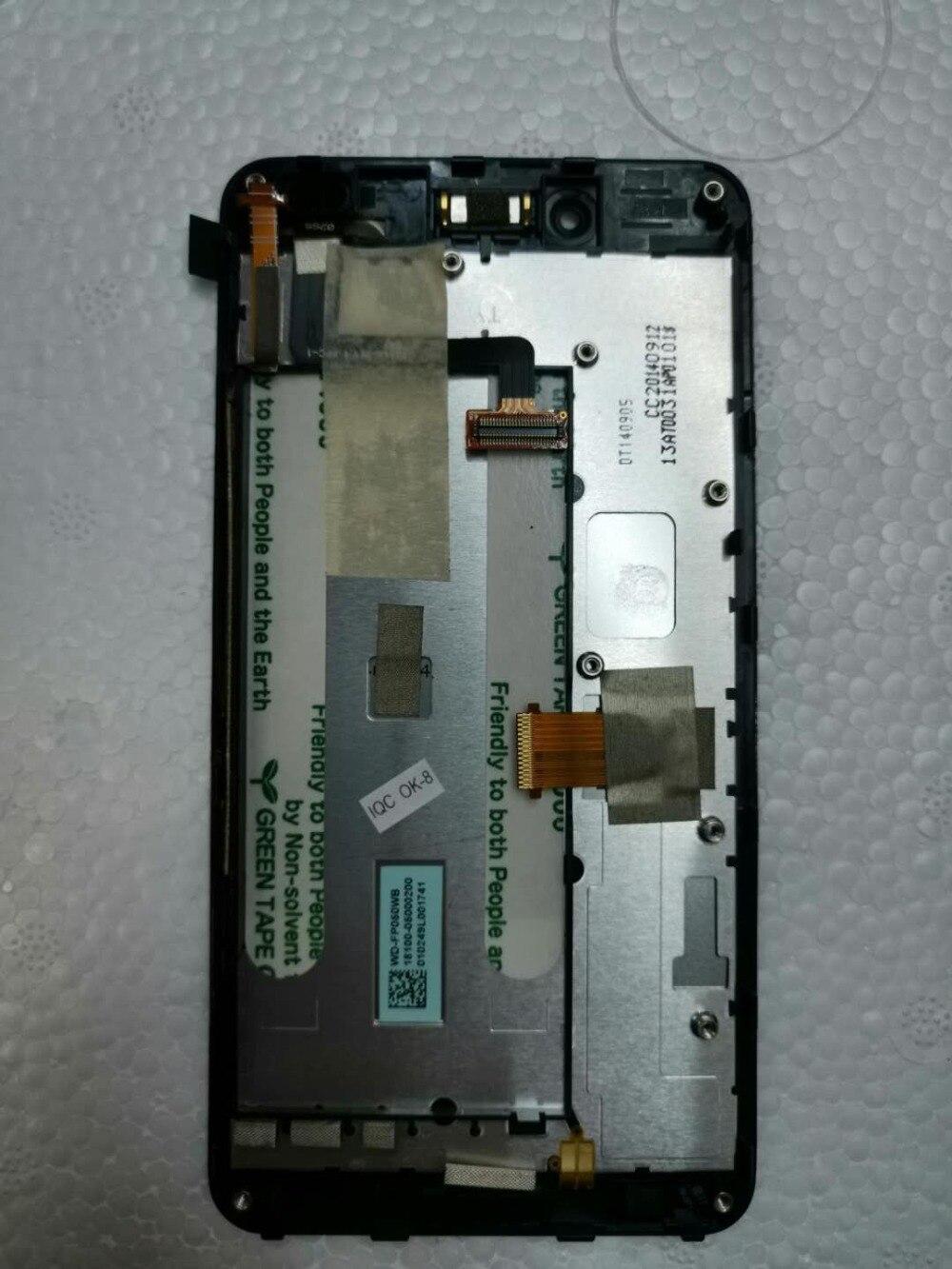 Pantalla de teléfono 5,0 para ASUS PadFone Infinity A80 Panel de pantalla LCD montaje del Sensor de vidrio con marco Digitalizador de pantalla táctil