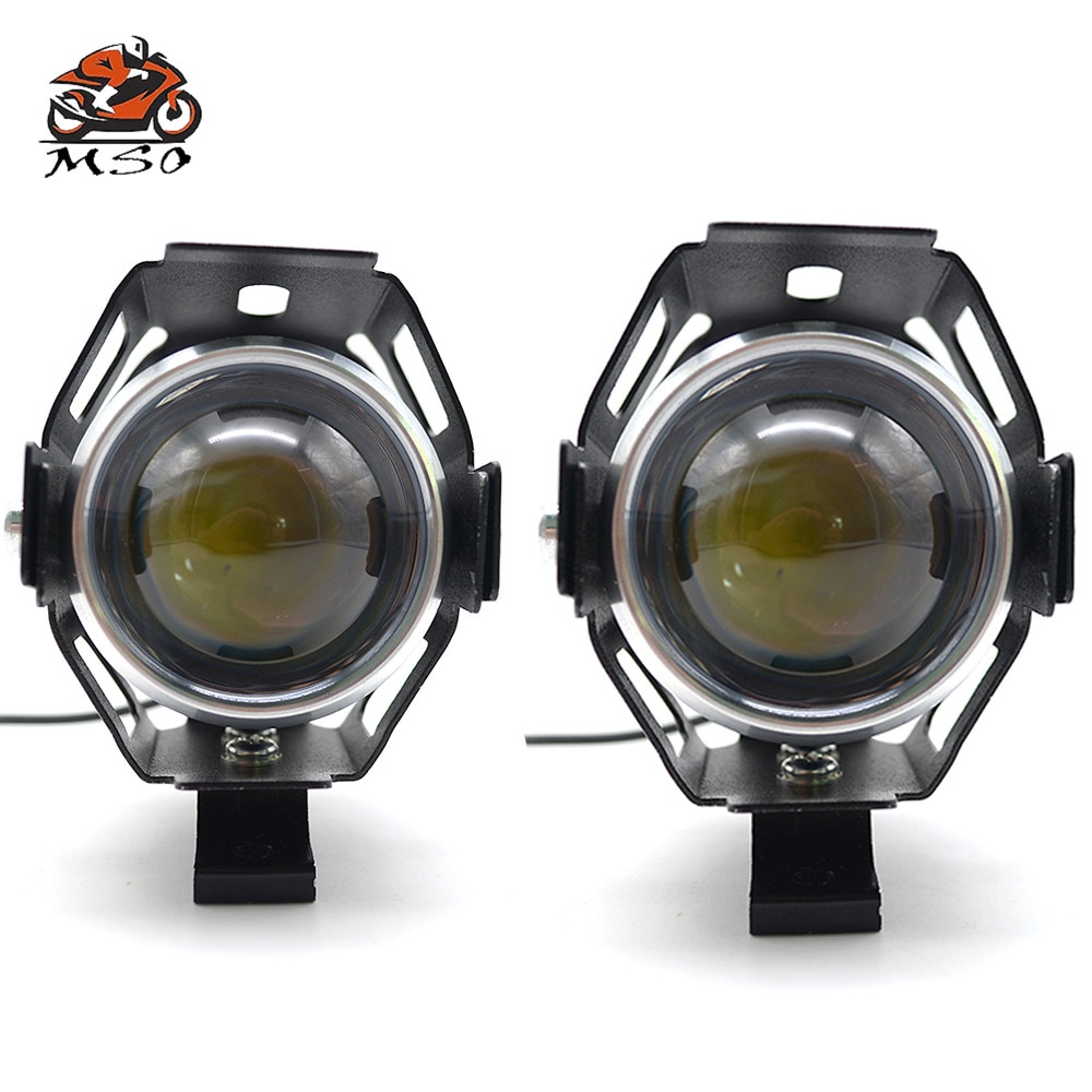 Faro LED para motocicleta Chip U5 de conducción para motocicleta proyector Moto para Yamaha XJ6/desviación XJR 1300/Racer XSR 700/900/ABS MOTO