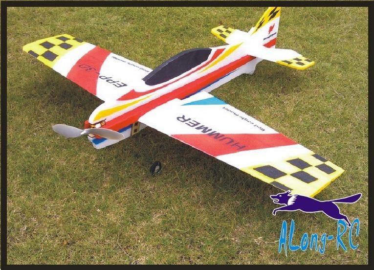 RC 3D avión/pasatiempo de modelos RC juguetes envergadura 1000mm hummer 3D avión (kit o pnp set ) EPP modelo de avión