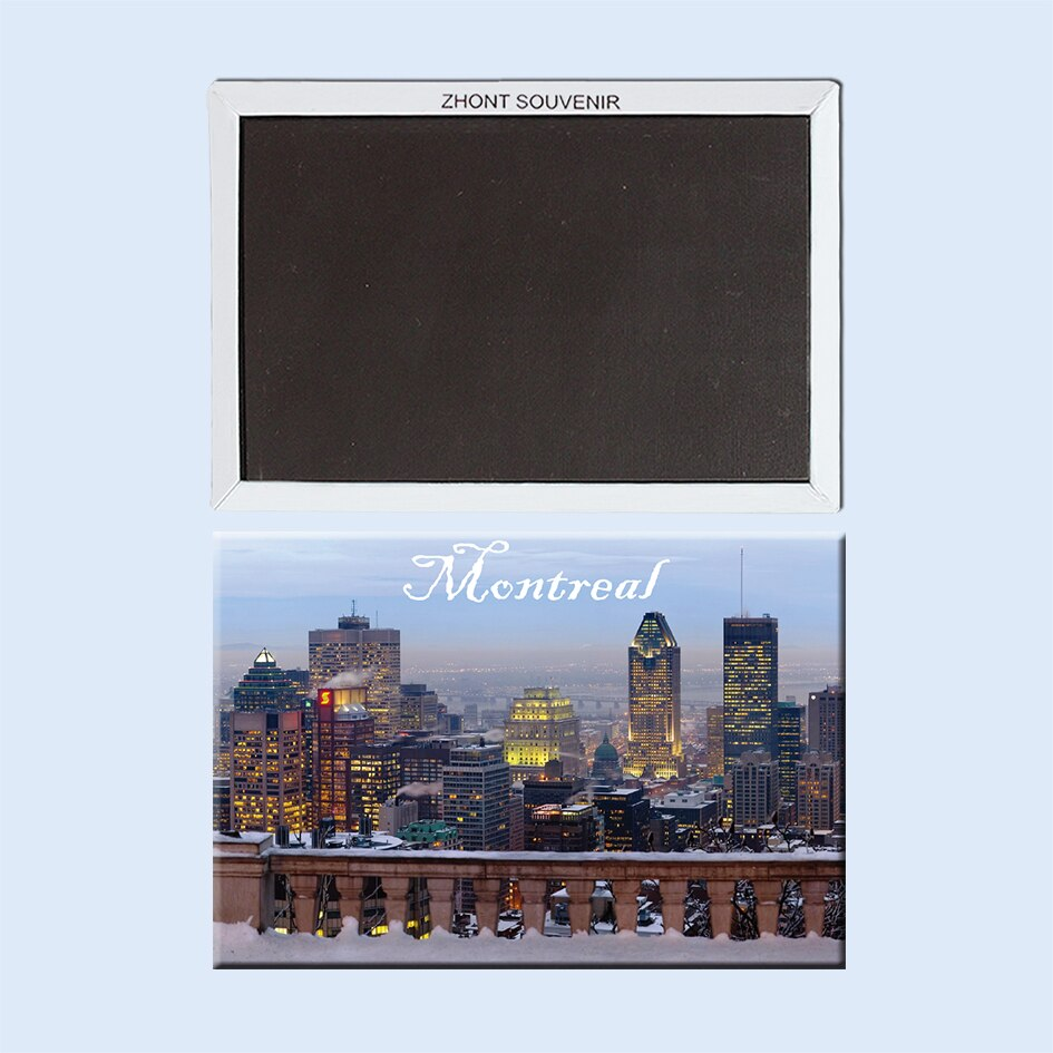 City_lights_of_Montreal Fridge Magnets Travel souvenirs 21935