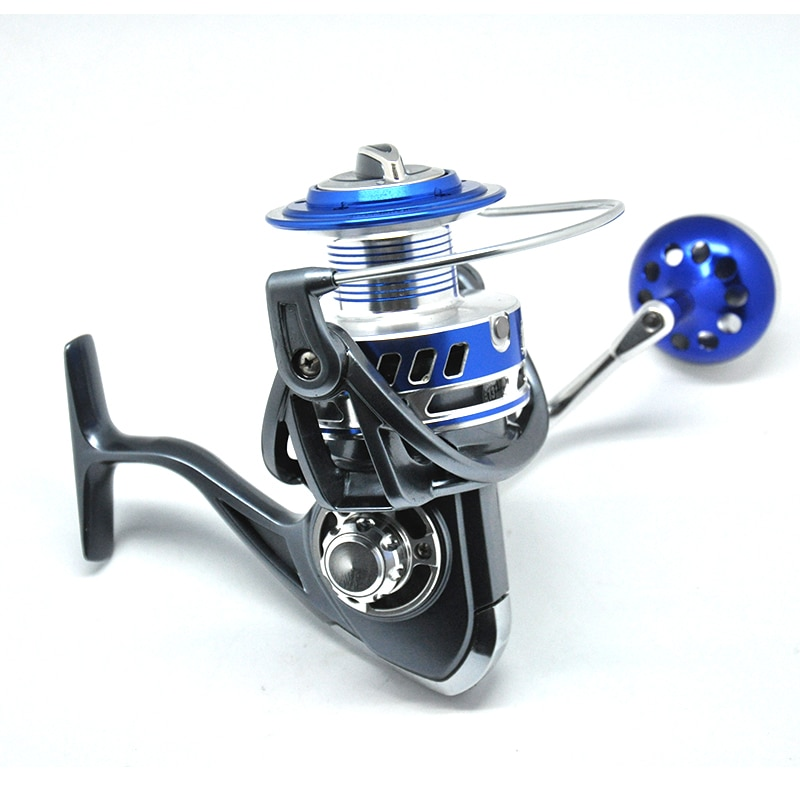 Topline Tackle 5000 7000 10000 Spinning Reel Fishing Reel Wheel Casting Fishing with Line Copper rod rack drive Fish Tools enlarge