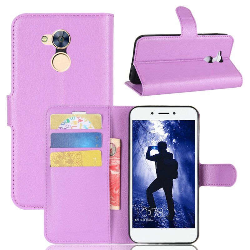 Para Huawei Honor 6A pro DLI-L42 DLI-L22 cartera Flip Funda de cuero para Huawei Honor 6X BLN-21 BLN-22 BLN-23 teléfono caso de la cubierta