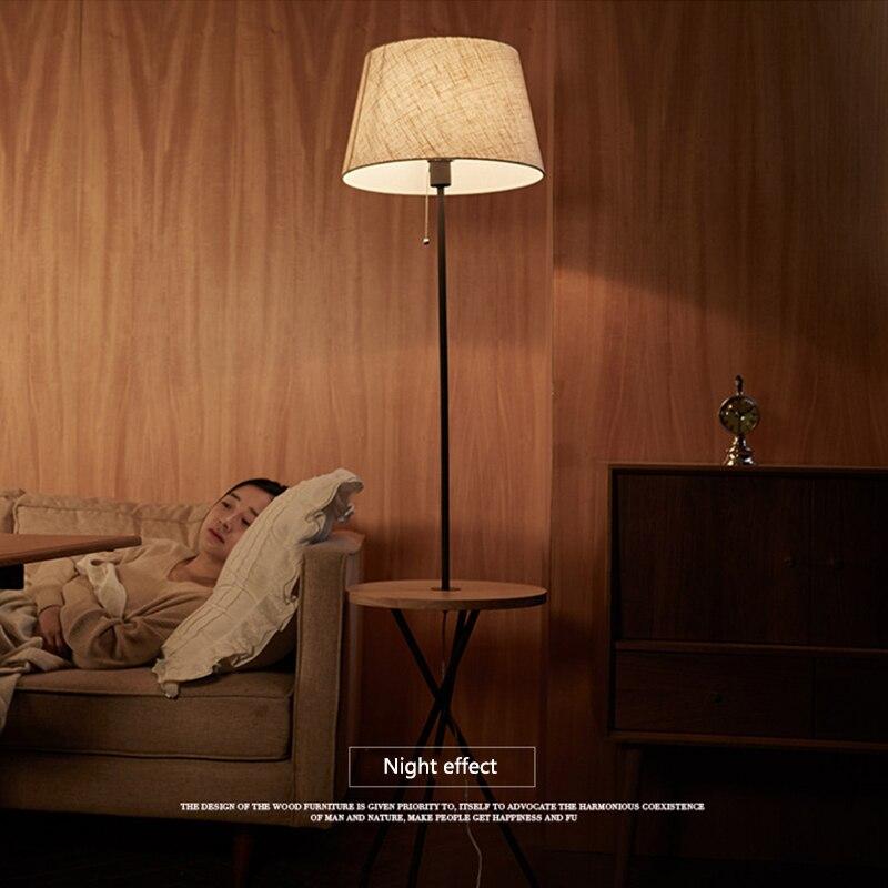Nórdico moderno mesa de café a la moda luces de suelo E27 LED soporte de hierro lámparas para sala de estar dormitorio estudio habitación de hotel cafe