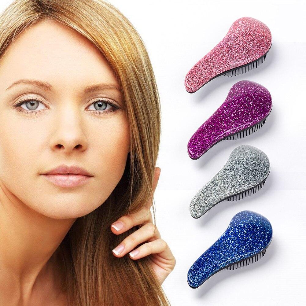 Magic Handle Comb Anti-static Hair Brush Tangle Detangle Shower Massage Hairbrush Comb Salon Hair Beauty Styling Tools