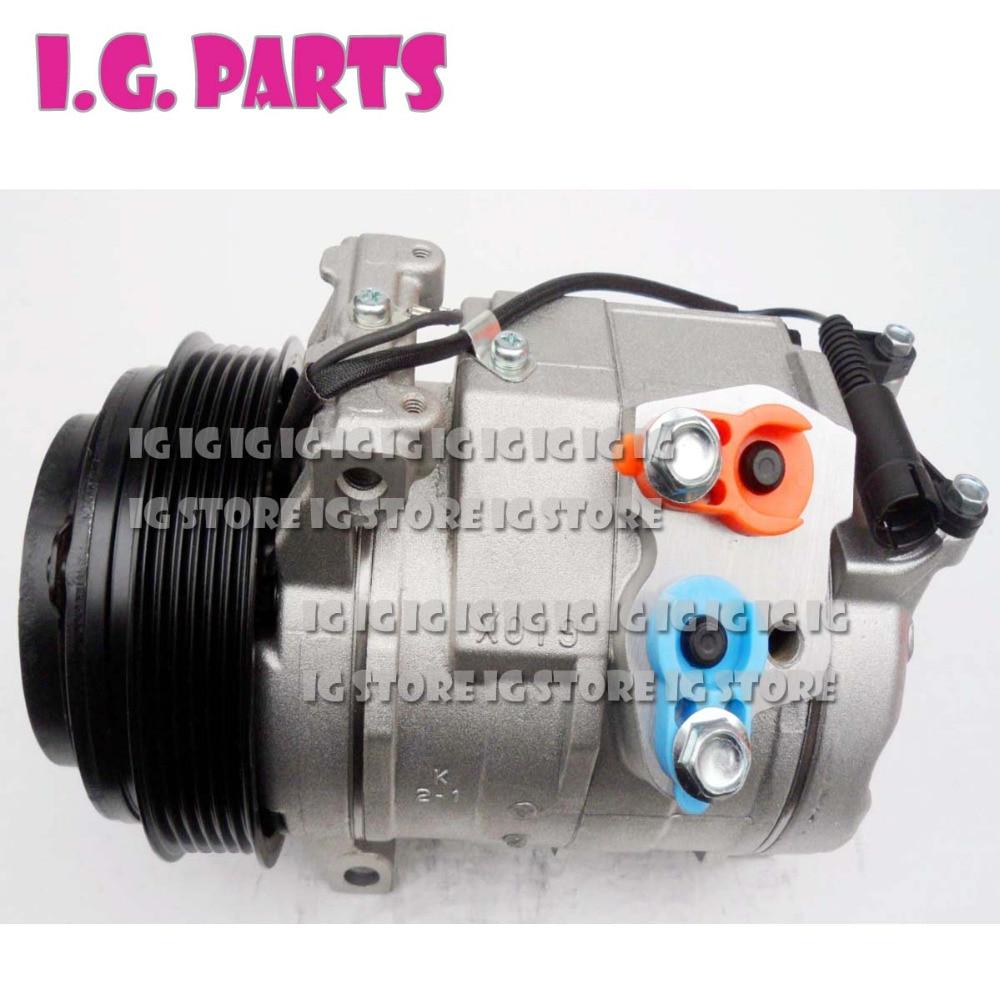 10S17C Auto compresor de aire acondicionado para Mercedes-Benz Sprinter 313 413 PV6 A0002343511 447220-4004
