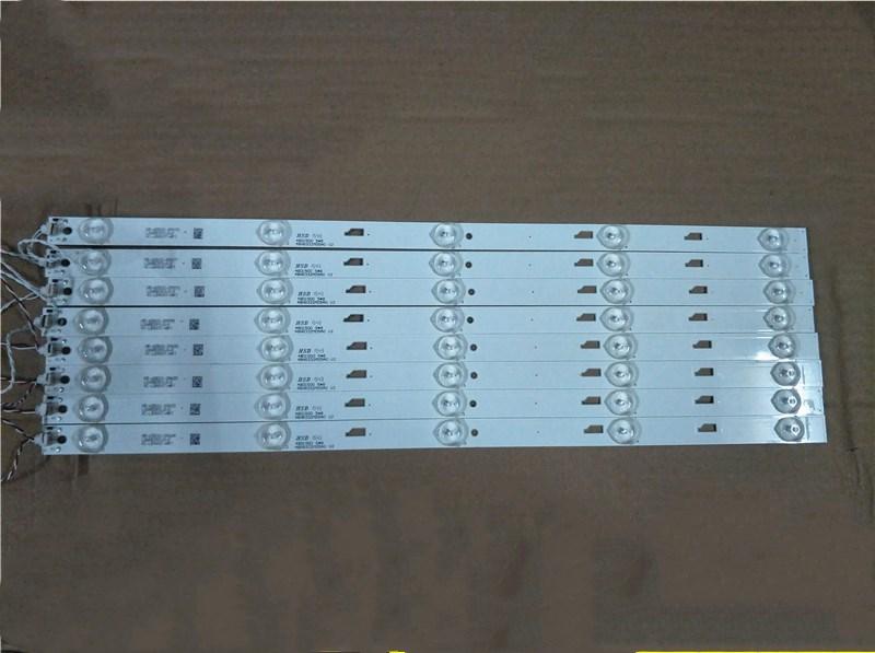 Luz de fondo led para s hiba 48L2500C barra de luz 48D1500 48HR332M05A0 V2 4C-LB480T-HR1 1 set = 8 piezas