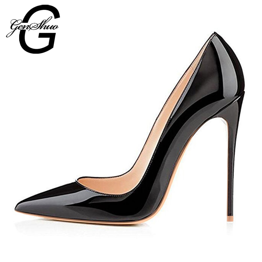 women white wedding bride bridal shoes woman sexy stiletto high heeled pumps ladies high heels shoes plus size 33 47 elissara High Heels Shoes Women Pumps 12cm Woman Shoes Sexy Pointed Toe Wedding Party Shoes Stilettos Black Nude Heels Stiletto Plus Size