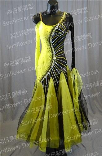 فستان رقص تانغو للبنات/النساء, رقص عصري فستان مسابقة رقص قياسي فستان قاعة مسابقات