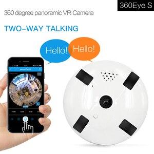 360 Degree Panoramic VR Camera Wireless Intercom  IP Camera 720/960/1080p Optional