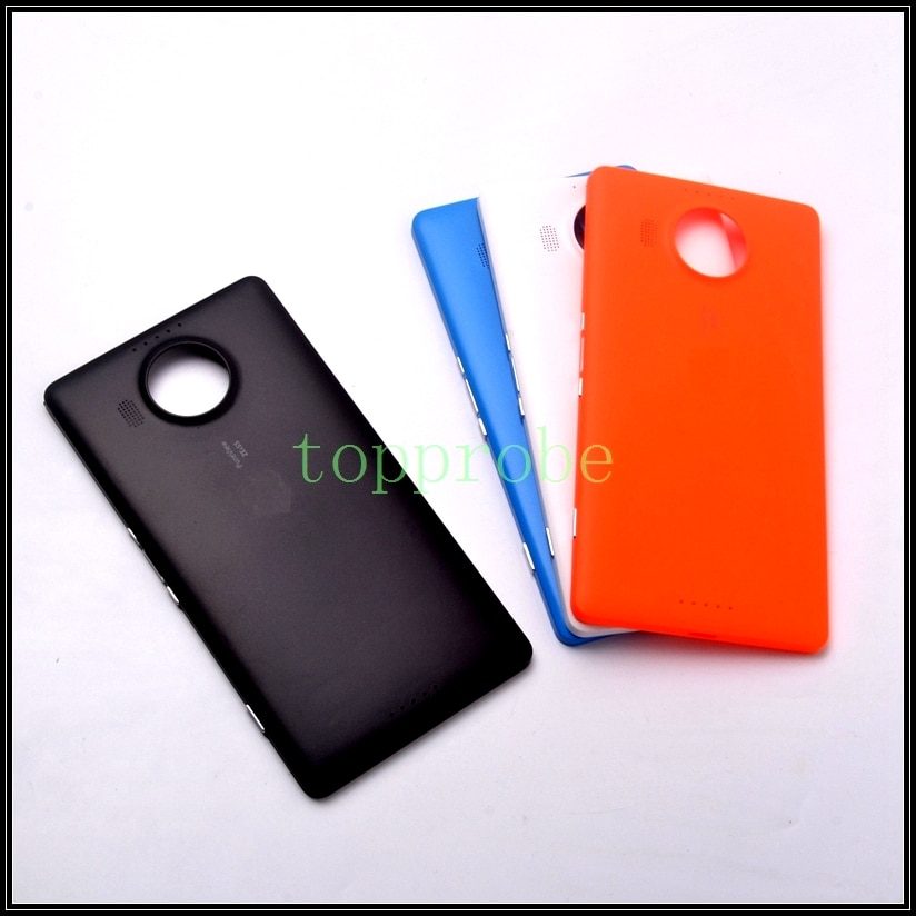 Cubierta trasera de batería Colorida funda carcasa para Nokia 950XL Microsoft lumia 950XL funda de batería con 1 pieza de película gratis