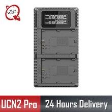 Nitecore UCN2 Pro Двойной слот USB QC LP-E6 LP-E6N зарядное устройство для Canon CANON DSLR EOS 60D 5D3 7D 70D 5D Mark II SLR камера батарея