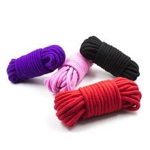 5M Sex Cotton Bdsm Bondage Rope Restraint Rope Slave Roleplay Sex Toys For Couples Adult Novelty Spe