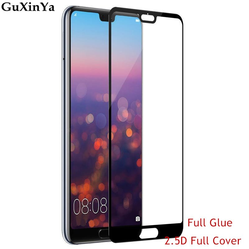 Screen Protector Glass Huawei P20 Pro Full Glue Tempered Glass For Huawei P20 Pro Full Cover 9H Glas