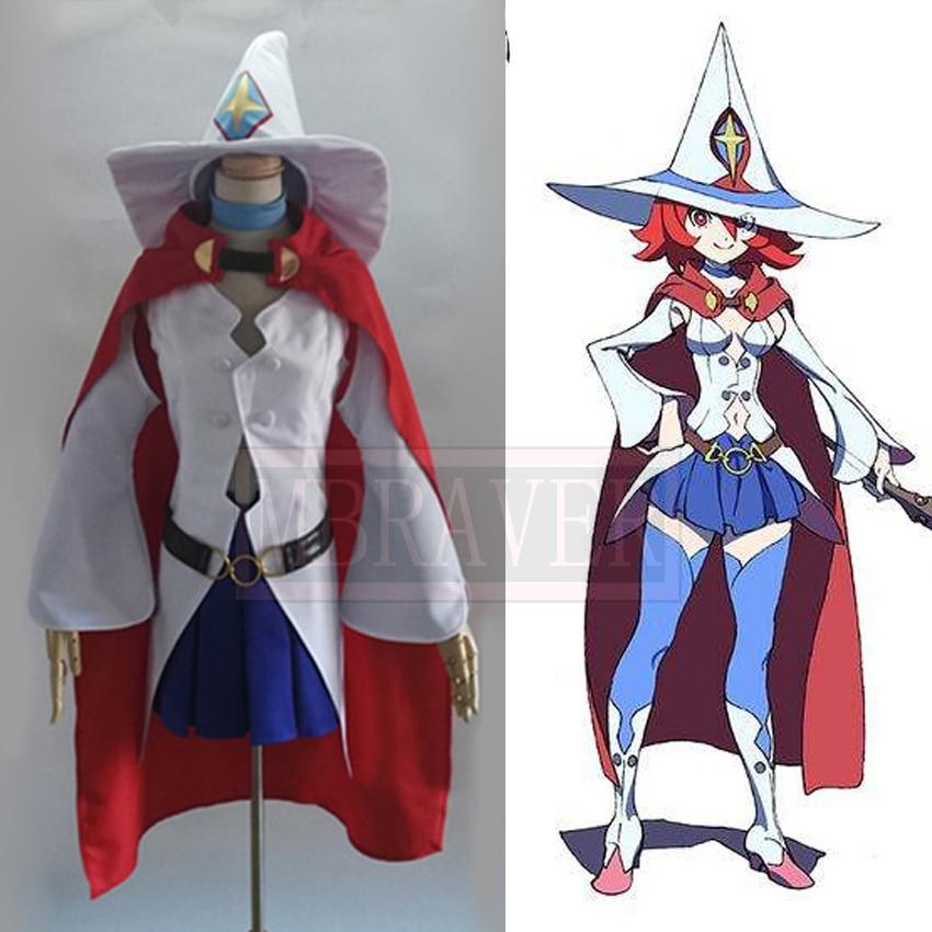 Косплей-костюм маленькой ведьмы Академии Урсула каллистис блестящая колесница с шляпой на заказ