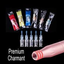 20 pièces/lot daiguilles de tatouage de Charme cartouche pour Premium Charmant Machine de maquillage Permanent pour les lèvres de sourcil 1RL 3RL 5RL 5F 7F