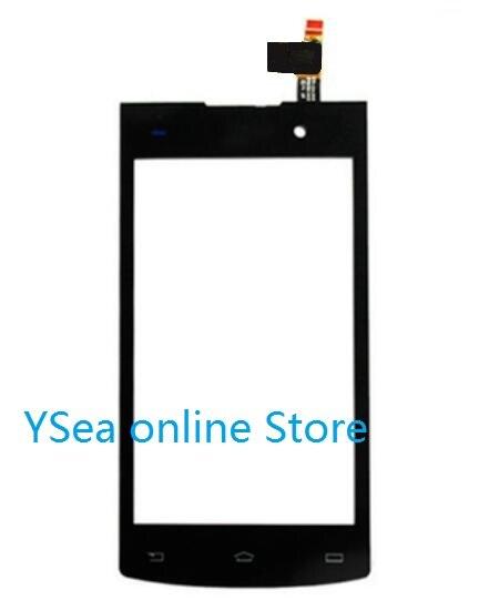 """Gran venta pantalla táctil del Panel frontal de 4,0 """"para Philips Xenium s308 sensor del digitalizador reemplazo de la pantalla de cristal del teléfono móvil nuevo"""