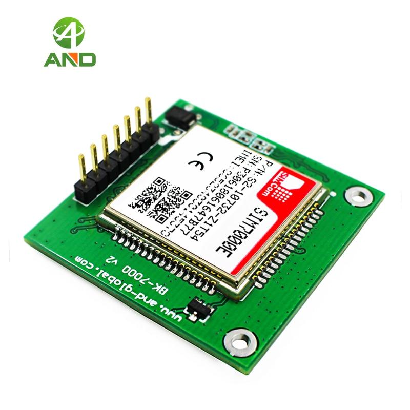 Móvil IoT módulos SIM7000E Kit de desarrollo NB mucho Placa de adaptación para naranja/KPN/TELIA/VODAFONE/VELCOM/TIM/TE... B3/B8/B20/B28 1PC