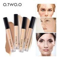 O.TWO.O Makeup Concealer Liquid Convenient Full Coverage Eye Dark Circles Blemish 4 Colors New Dark Skin Face Contour Cosmetics