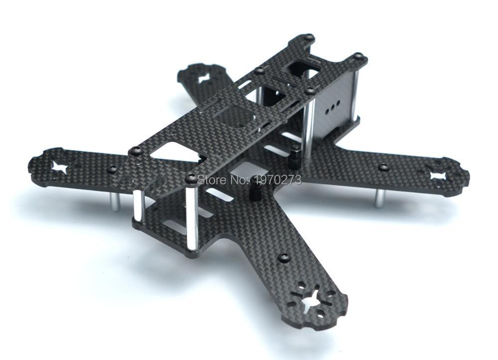 Mini Kit de armazón de cuadricóptero de fibra de carbono puro de 210mm para Lisam LS-210 QAV210