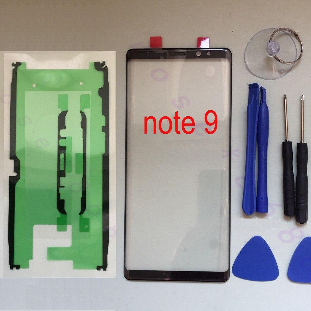 Para samsung galaxy note 9 n960 n960f n960fd n960u n960w n960n original telefone tela de toque frente exterior substituição do painel vidro