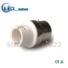 B22 TO BA15D adapter Conversion socket High quality material fireproof material GU24 socket adapter Lamp holder