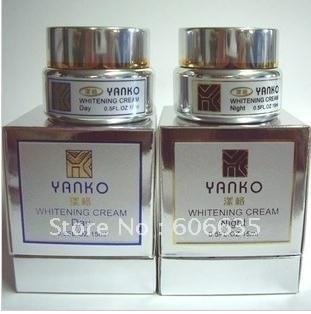 Original yanko creme de clareamento (dia + noite creme)-frete grátis