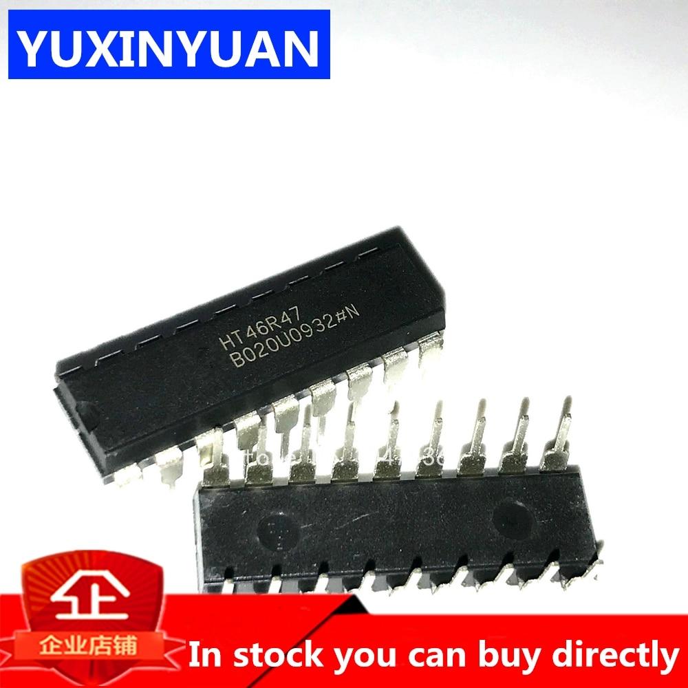10pcs/lot HT46R47 46R47 DIP18 DIP-18 NEW Induction cooker chip
