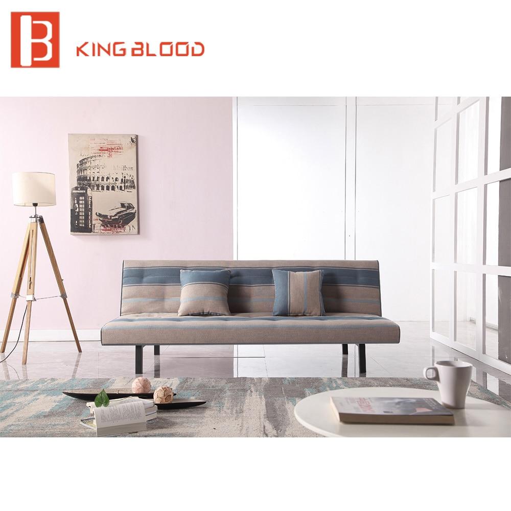 Tela plegable sofá cama moderno